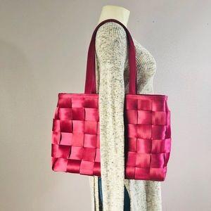 Harveys Seatbelt Tote Bag Raspberry Pink
